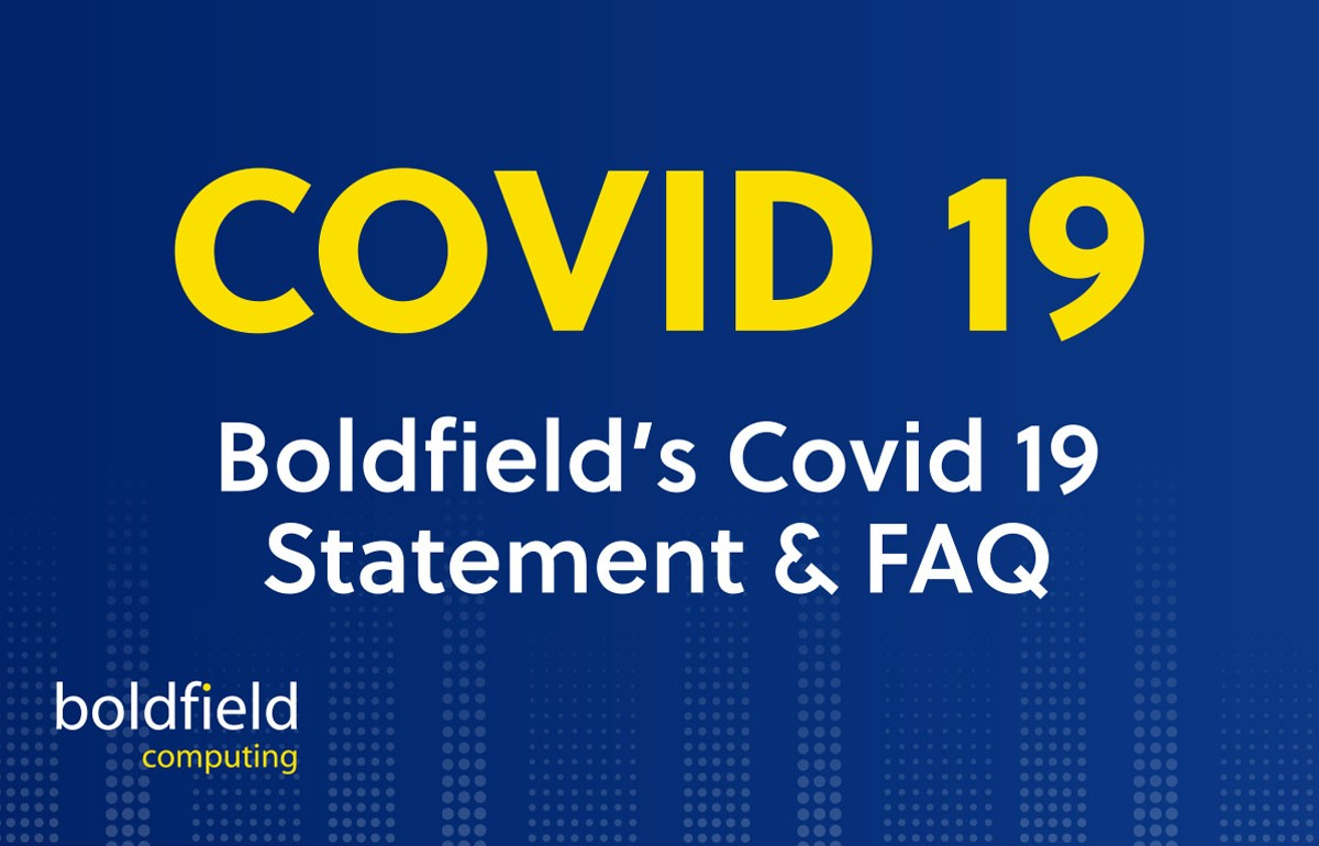 Boldfield Covid 19 Statement